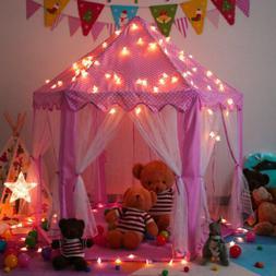 Princess Castle Play Tent Large Indoor/Outdoor Kids Girls Pi