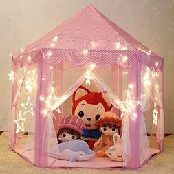 Wilhunter Princess Castle Play Tent Fairy Kids Play Tent wit