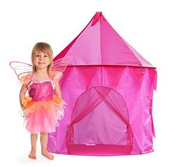 GigaTent Princess Tower Play Tent Girls Play House Portable