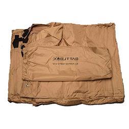 BATTLBOX All-Purpose Waterproof Tarp – Lightweight and Com