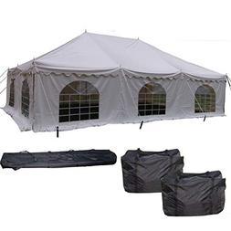 DELTA Canopies 30'x20' PVC Pole Tent - Heavy Duty Wedding Pa
