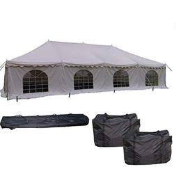 40'x20' PVC Pole Tent - Heavy Duty Party Wedding Canopy Shel
