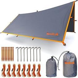 Rain Fly Tent Tarp - Waterproof Lightweight Survival Gear Sh