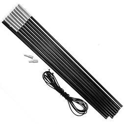 surepromise Replacement Fibreglass Pole Kit Shock Corded Cam  sc 1 st  Eureka Tents - tentsi & Eureka Tetragon 9 Tent   Tentsi