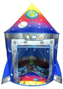 Rocket Ship Play Tent Playhouse