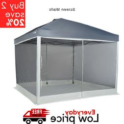 Screen Walls for 10 x 10 Straight-Leg Canopy with 2 Doors Ca