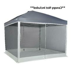 Screen Walls Only for 10x10 Straight-Leg Canopy 2 Doors Camp
