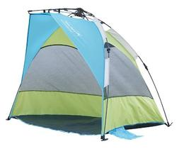 Lightspeed Outdoors Seaside Pop Up Sun Shelter Tent, Green/B