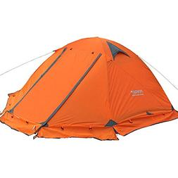Flytop 4-season 2-person Waterproof Dome Backpacking Tent Fo