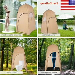Shower Tent Portable Toilet Camping Bath Room Outdoor Dressi