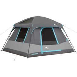 Six-Person Skylights with Ceiling Panels Cabin Tent