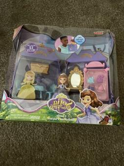 Disney Sofia the First Princess Castle Bedroom Playset Doll