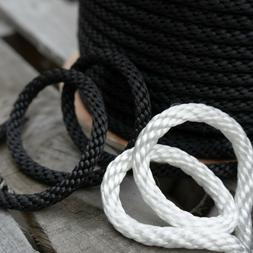 Solid Braid Polyester Rope Flagpole Halyard Antenna Guy Line