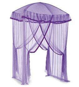 HearthSong® Sparkling Lights Hanging Bed Canopy Play Tent w