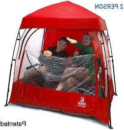 Sports Shelter ? 2 Person Weather Tent Pod  INDOOR OUTDOORS