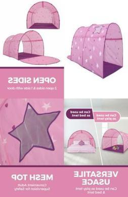 Alvantor Starlight Bed Tents Canopy Dream Kids Play Pink Twi