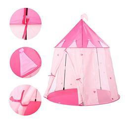 Tents Children's Stars Pink Toy Game House Yurt Indoor Kids