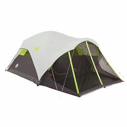 Coleman Steel Creek Fast Pitch 6-Person Dome Tent with Scree
