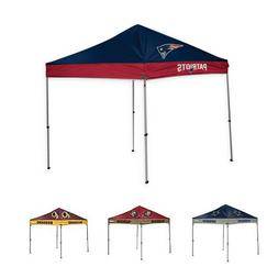 NFL 9x9 Ft Canopy Tent w/ Case Outdoor Shelter Tent Waterpro