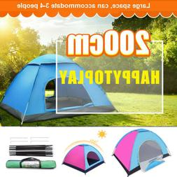 Sundome 4-Persons Tent Pop Up Instant Dome Cabin Meramac Ten