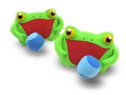 Melissa & Doug Sunny Patch Froggy Toss and Grip Catching Gam