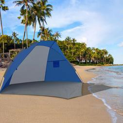 Sunshade Beach Tent Portable UV Protection Outdoor Sun Shelt
