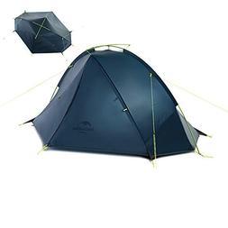 Naturehike Lightweight Backpacking Tent,3 Season 2 Person Te