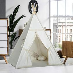 Kids Teepee Tent for Girls Children Play Teepee Play House O & Dream House Indian Teepee Tent | Tentsi