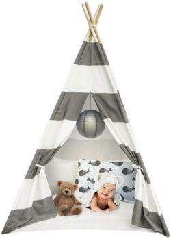 Sorbus Kids Foldable Teepee Play Tent Playhouse Classic Indi