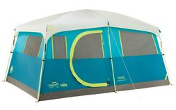 Coleman Tenaya Lake Fast Pitch 8-Person Cabin Tent with Clos