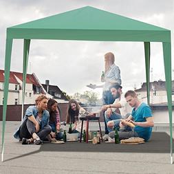 Tangkula Outdoor Tent 10'X10' EZ Pop Up Portable Lightwe