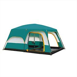 Tent Outdoor Camping Double Tent Suitable for 5-8 People Lar