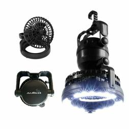 HAITRAL 2-in-1 Portable LED Camping Lantern with Ceiling Fan