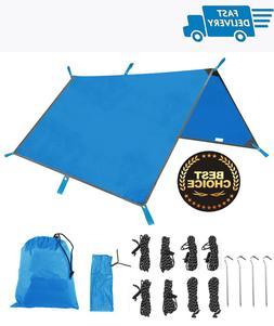 Tent Tarp Rain Fly Hammock Waterproof Sunshade Windproof for