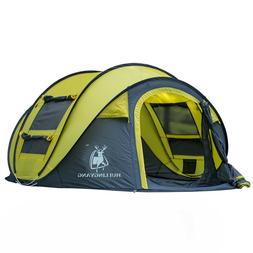 Throw Tent Outdoor Automatic Pop Up Waterproof Camping Hikin