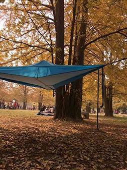 LFH Tree Tent Nylon Fabric Triangle Hanging Tree Tent Hammoc