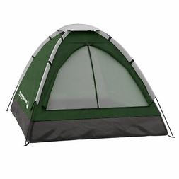 Two Person 2 Man Green Tent Carry Bag Kids Adult Camping Eas