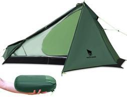 GEERTOP Ultralight 3 Season 1 Person Tent Camping Backpackin