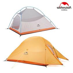 ultralight backpacking camping tent hiking 20d silicone