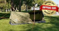 Ultralight Backpacking Compact Solo Trekking Pole Tent  for