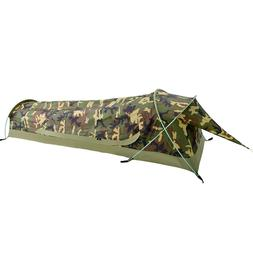 Ultralight Compact 1 Person Waterproof Bivy Tent Backpacking