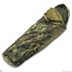US Army Military Woodland Camouflage Camo GTX GORETEX Sleepi