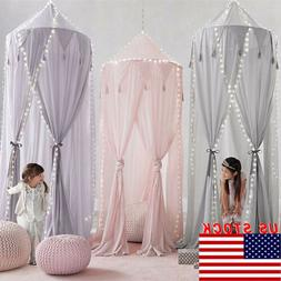 US Child Baby Bed Canopy Netting Bedcover Mosquito Net Curta
