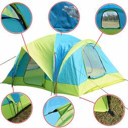Waterproof 10 Person Camping Tent Outdoor Hiking Two Layer B