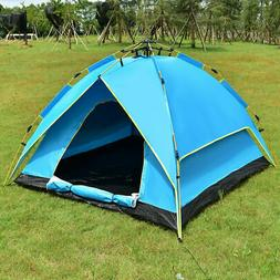 Waterproof 2-3 Person Camping Tent Hydraulic Automatic Insta