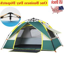 waterproof 2 3 person instant self pop