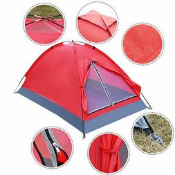 Waterproof 2 Person Camping Tent Travel Outdoor Hiking Backp