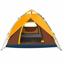 Waterproof 4-5 People Automatic Instant Pop Up Tent Camping