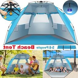 Waterproof Automatic 5-6 People Outdoor Instant Popup Tent C