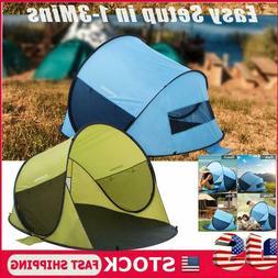 Waterproof  Automatic Instant Pop Up Tent Outdoor Camping Hi